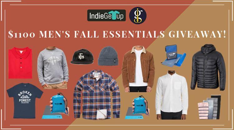 Men's Fall Essentials Giveaway 2019 (Win $1100 Worth of Autumn Gear)   GENTLEMAN WITHIN