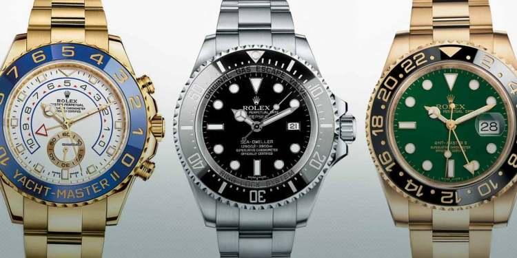 Three Rolex Watches