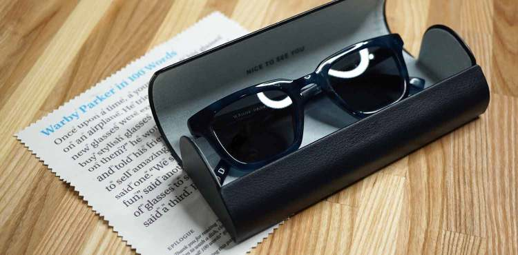 Warby Parker Sunglasses In Belize Blue