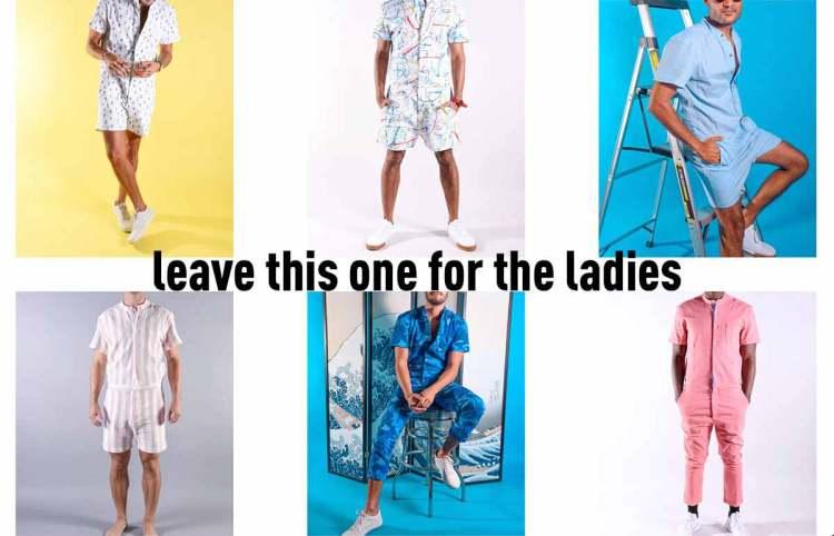 mens romper fashion trend