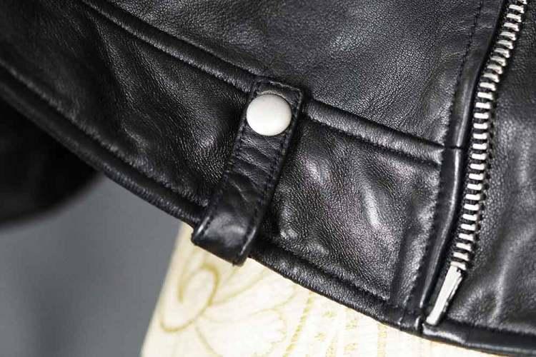 allsaints milo leather jacket belt loop