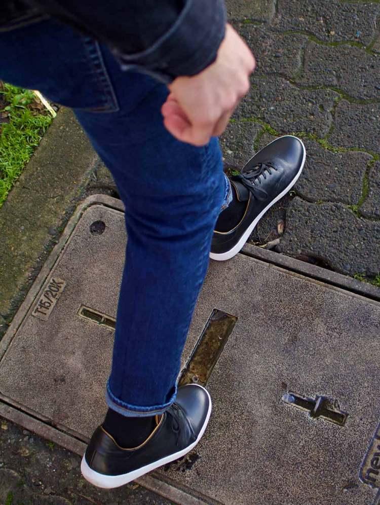 geller trainer on feet 4