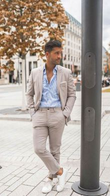 white sneakers with sport coat outfit 3