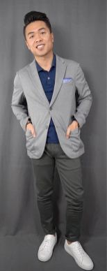 white sneakers with sport coat outfit 5
