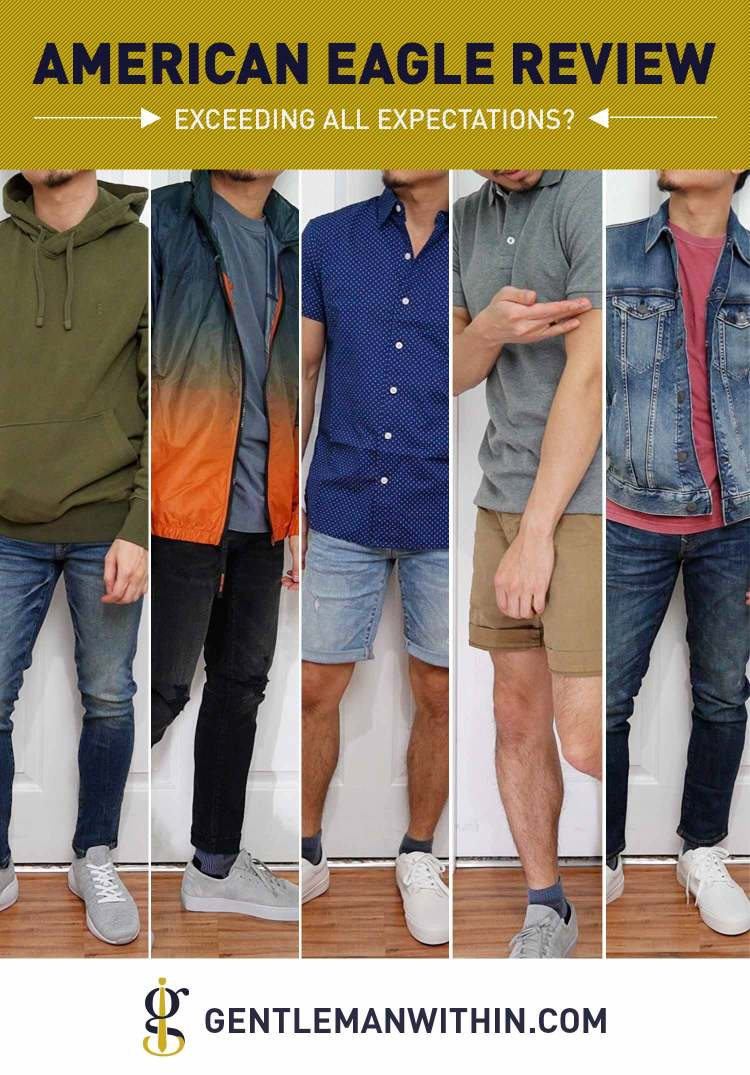 American Eagle Review & Try-On Haul (Exceeding All Expectations?) | GENTLEMAN WITHIN