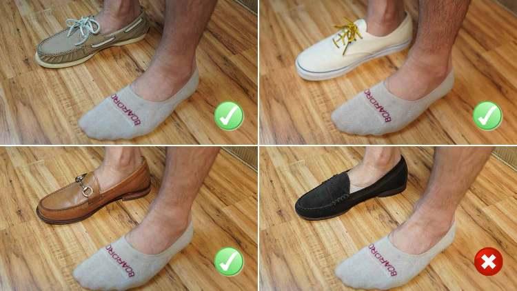 boardroom socks no show sock test