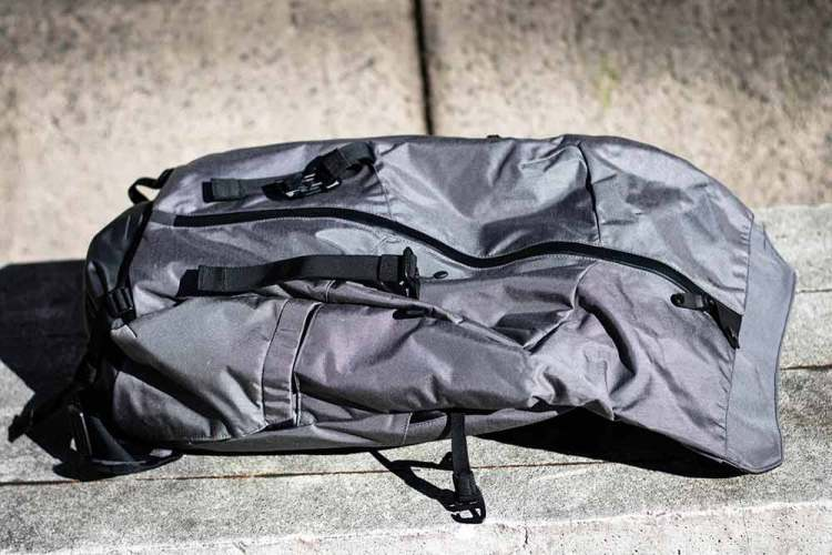 boundary supply prima system bag open