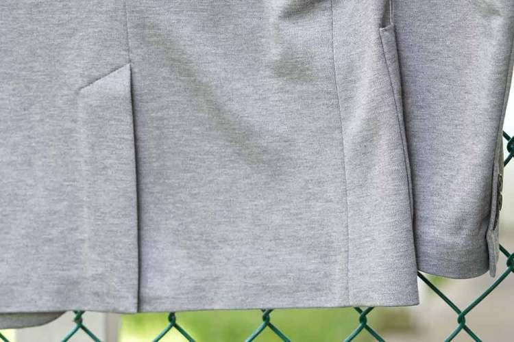 comfort jacket single back vent