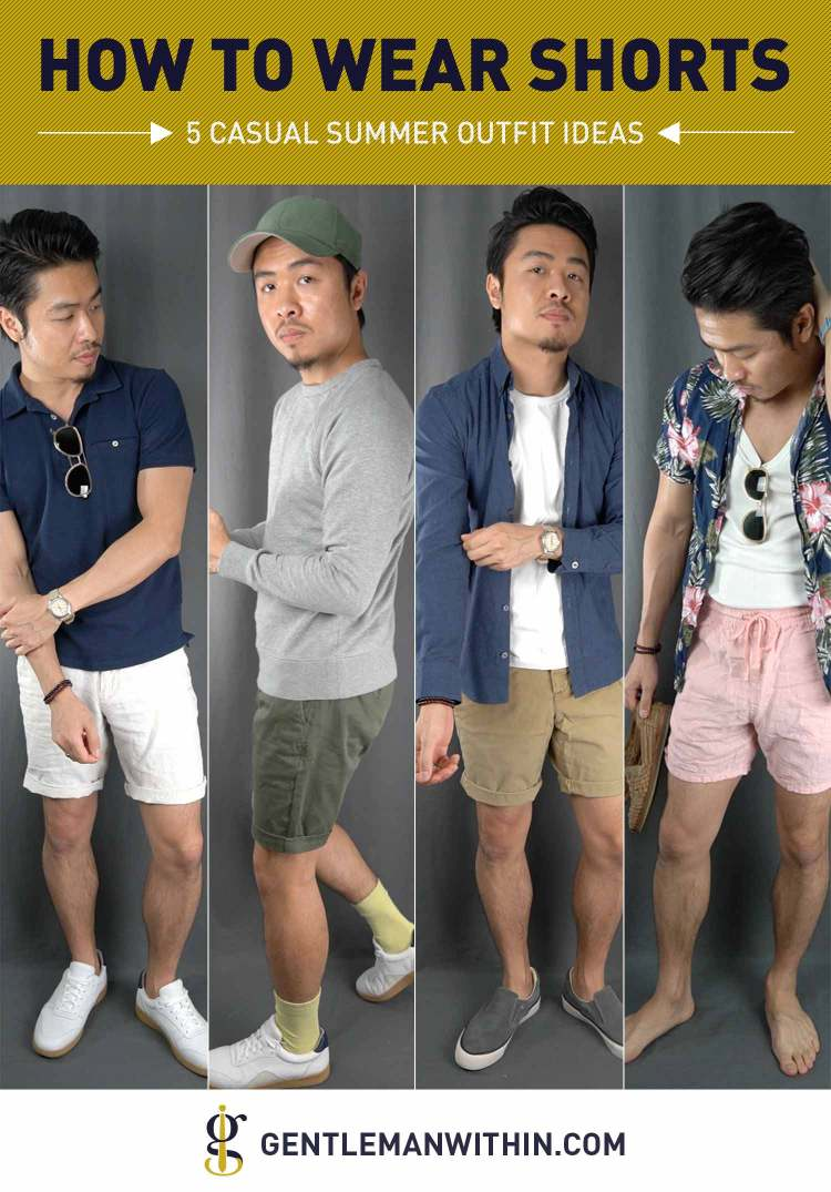 How To Wear Shorts for Asian Men | GENTLEMAN WITHIN