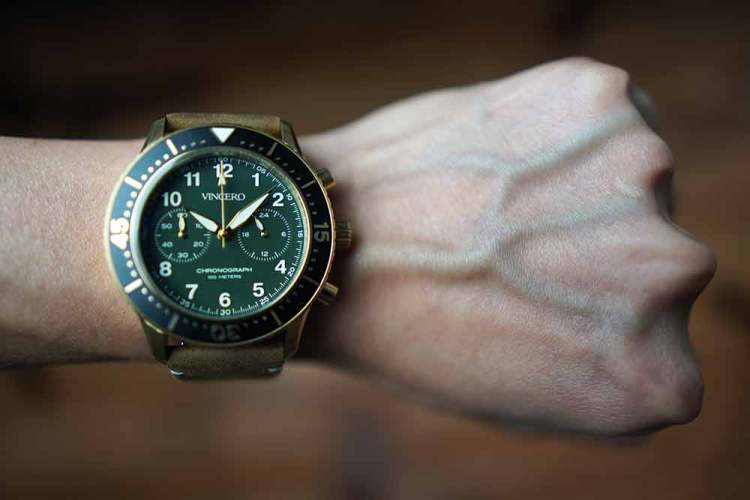 the outrider on wrist