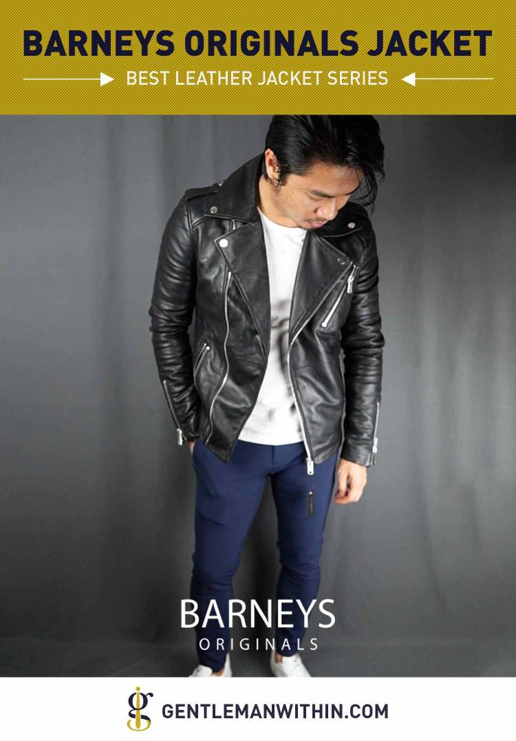 ASOS Barneys Leather Jacket Review (Best Leather Jacket Series) | GENTLEMAN WITHIN