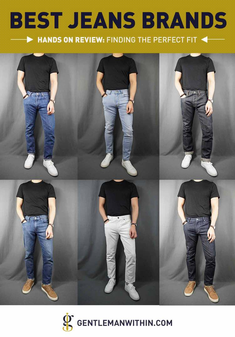 20 Best Jeans Brands for Men in 2020 (Finding the Perfect Fit) | GENTLEMAN WITHIN