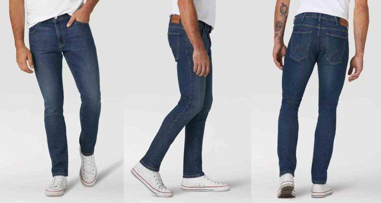 wrangler slim tapered jeans