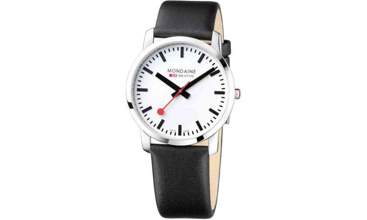 a simple swiss made watch mondaine