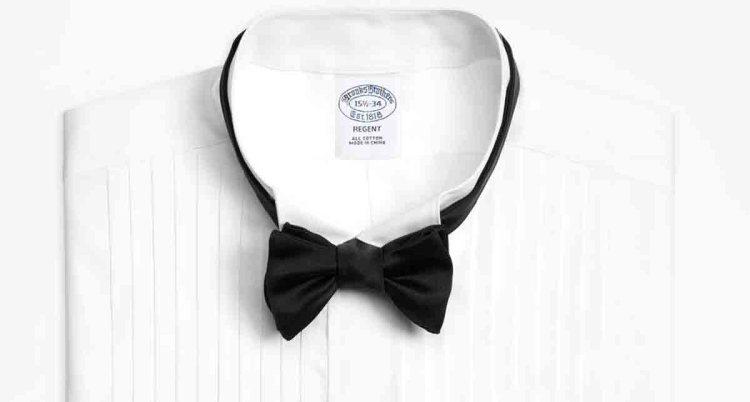 black tie wedding bowtie