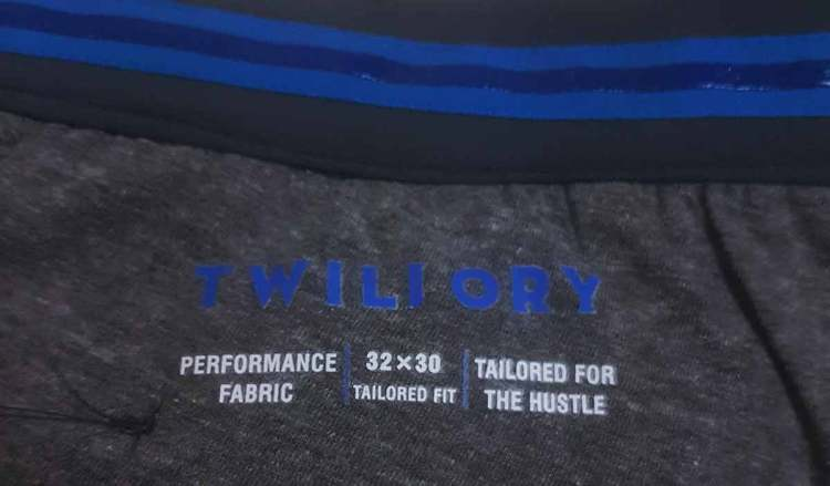 twillory pants shirt gripping waistband