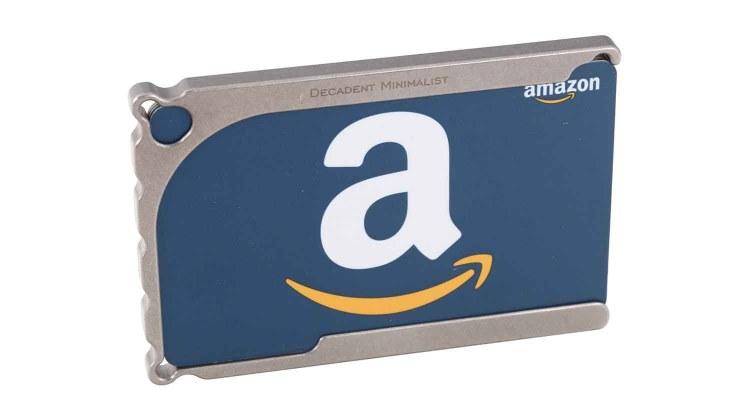 decadent minimalist dm1 titanium wallet