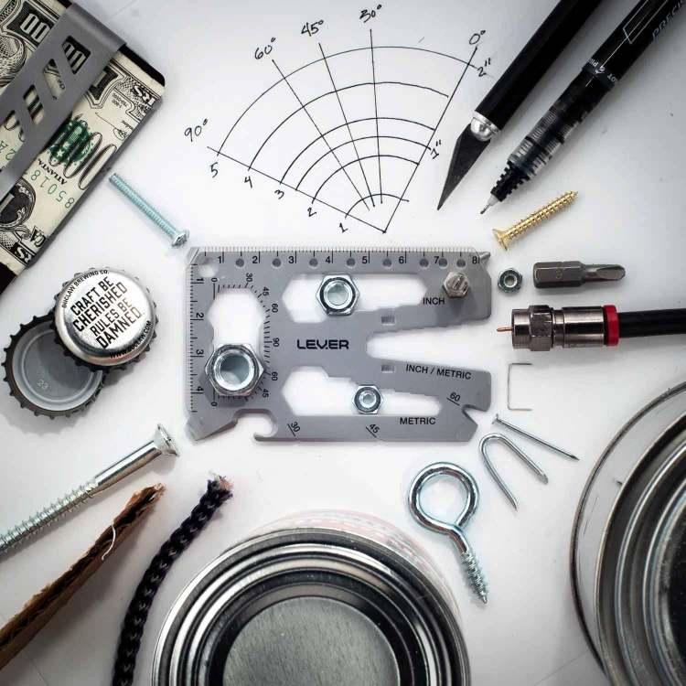 lever gear toolcard pro multi use