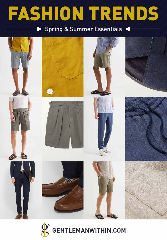 Spring & Summer Fashion Essentials for Men (Timeless Trends) | GENTLEMAN WITHIN