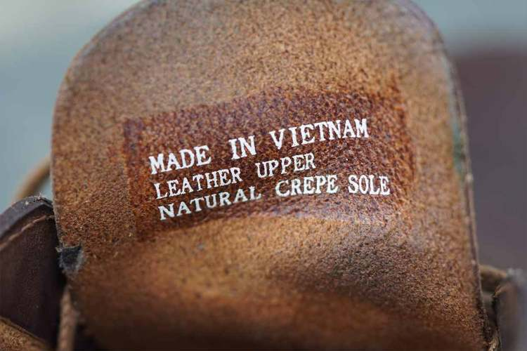 desert boot tongue made in vietnam
