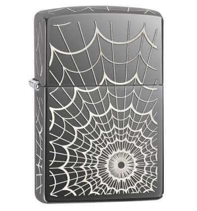 zippo the web black ice