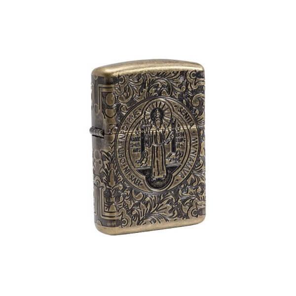 151514 bricheta zippo st benedict editie limitata 500 buc 1