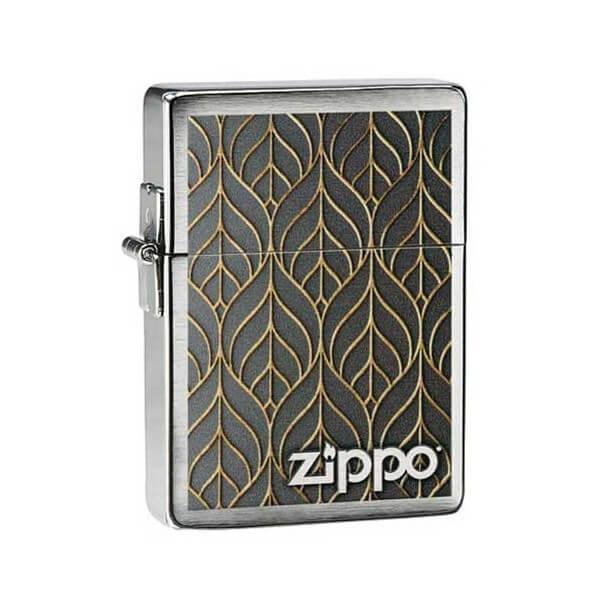 151721 bricheta zippo gold leaf 1