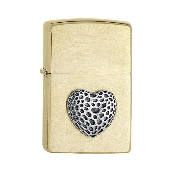 151749 bricheta zippo pl204b heart mini 1