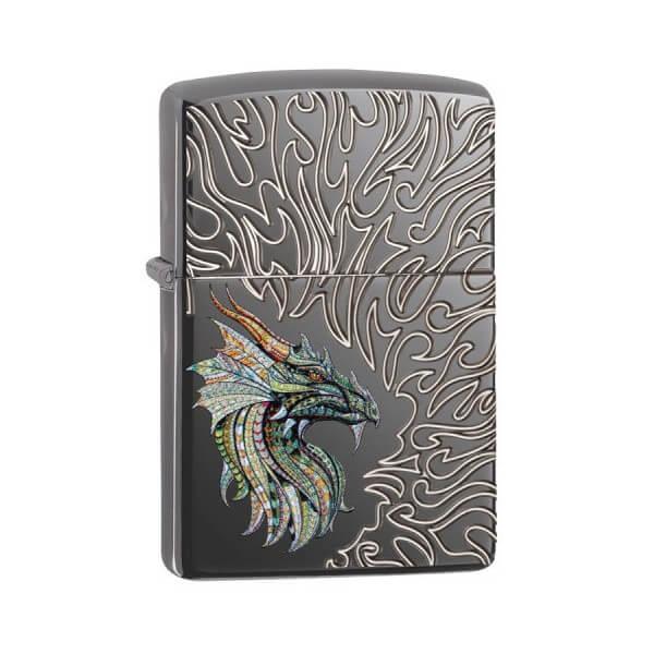 180089 bricheta zippo dragon flames 1