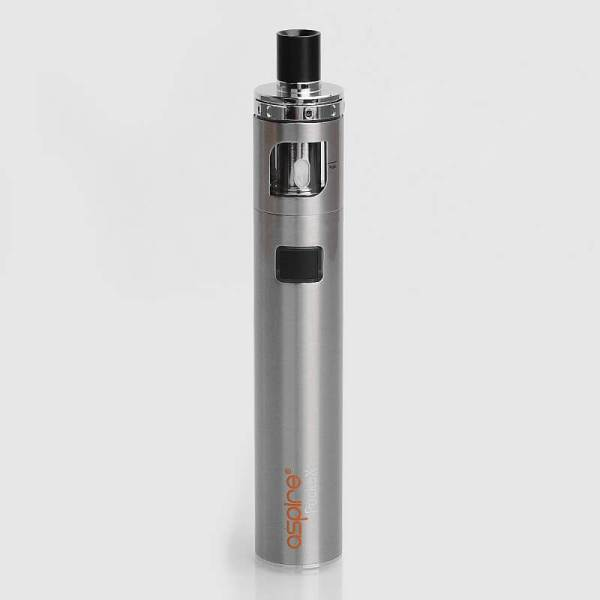 authentic aspire pockex pocket aio 1500mah all in one starter kit silver stainless steel 2ml 06 ohm 1