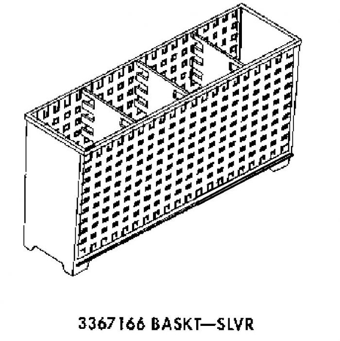 8539066 Maytag Dishwasher Silverware Basket