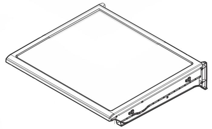 5304508761 Frigidaire Refrigerator Crisper Cover