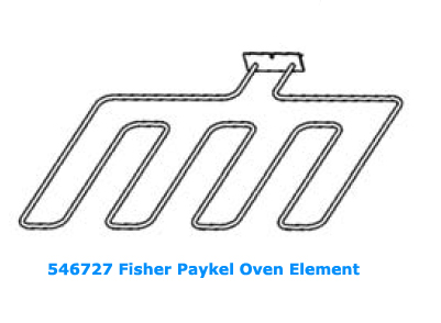 546727 Fisher Paykel Oven Element