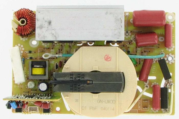 6871w1s019a lg microwave control board rfr
