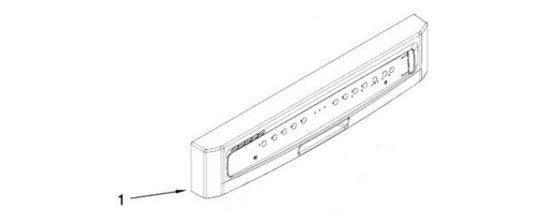 W10199785 Maytag Dishwasher Control Panel WHITE