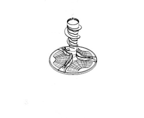 W11093899 Whirlpool Maytag Washer Agitator. Replaces