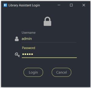 Material-design-login-screen