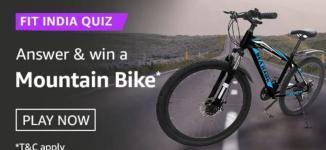 Amazon Fit India Quiz