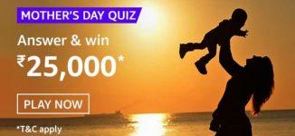 Amazon Mothers Day Quiz