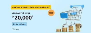 Amazon Business Extra Savings Quiz