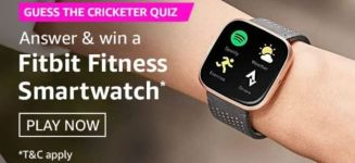 Amazon Guess The Cricketer Quiz