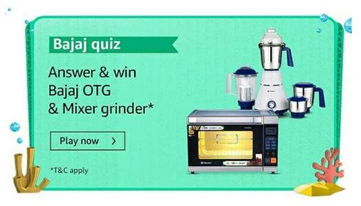 Amazon Bajaj Quiz