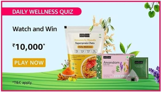 Amazon kapiva wellness quiz