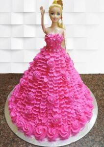 Joy, memory, first memory, birthday, cake, joy barbie doll