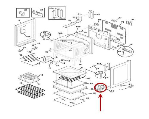 Frigidaire Part# 316406602 Insulation (OEM)