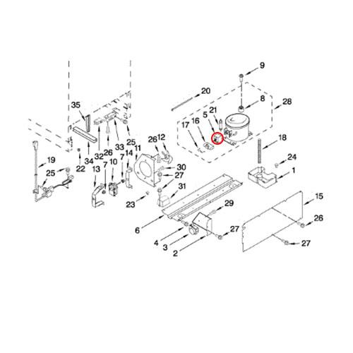 Whirlpool Part# 4344776 Start Device (OEM)
