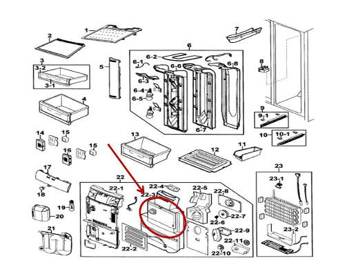 Samsung Part# DA62-01194A Insulation (OEM)