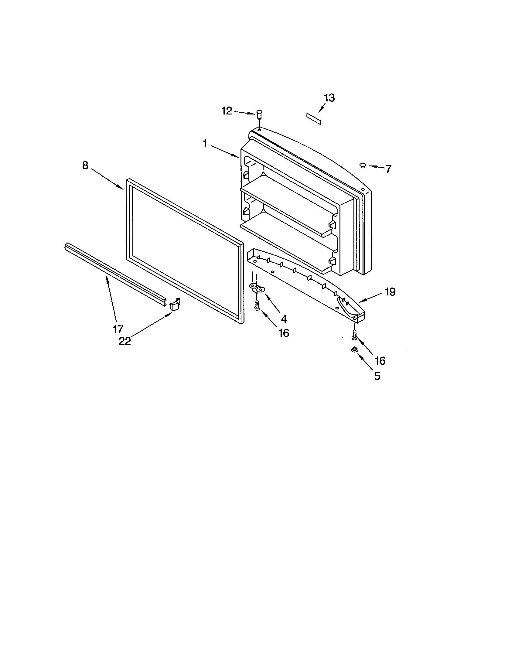Kenmore 106.68282200 Refrigerator Compressor Assembly