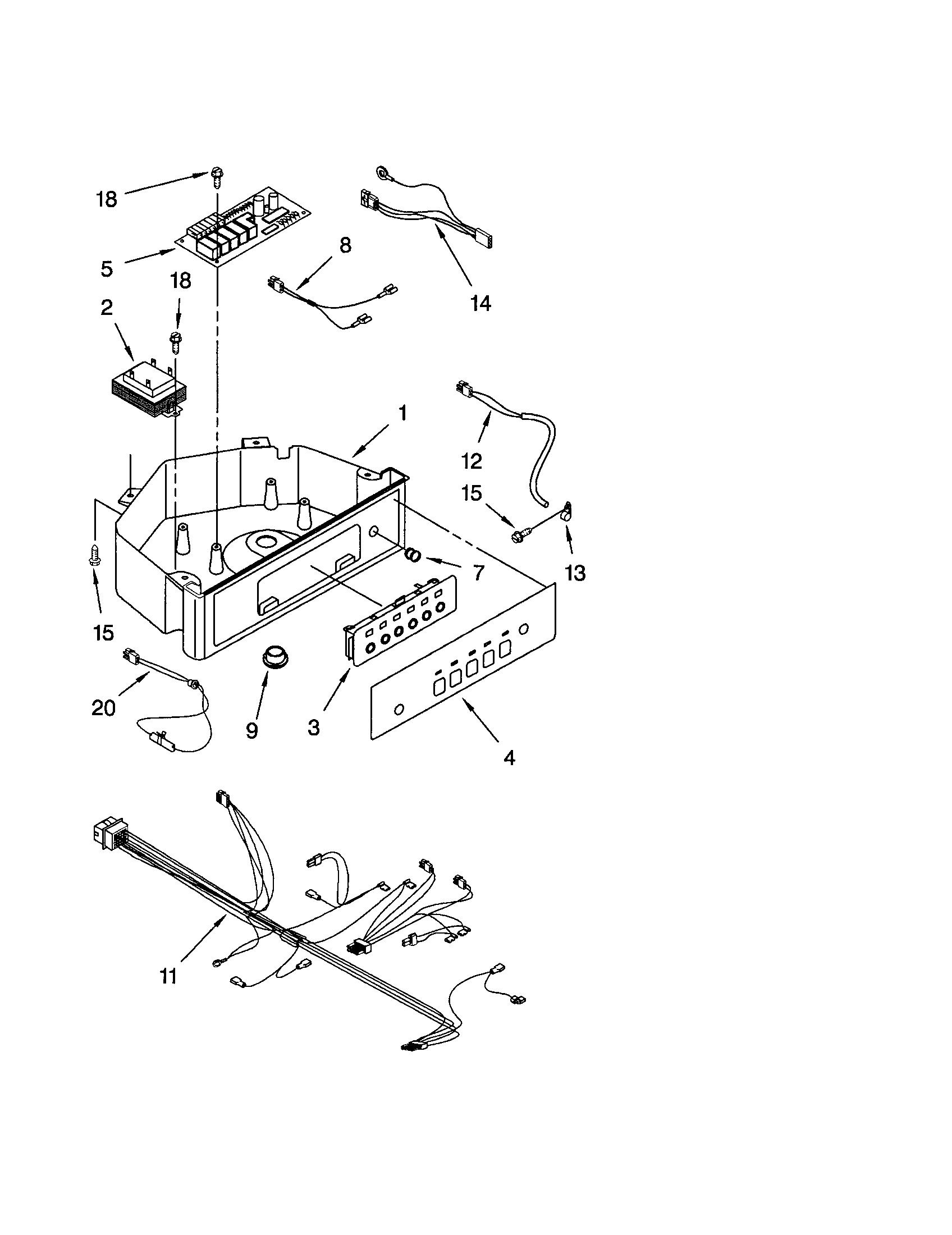 Kenmore 106 Ice Machine Control Thermistor Sensor