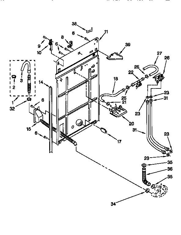 Kenmore 110.26902691 Washer Water Inlet Valve (w/bracket